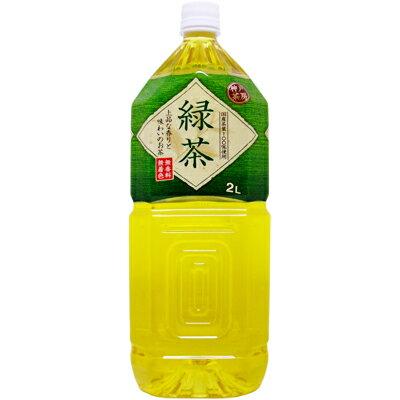 神戸茶房 緑茶 2L×6本(1ケース) PET【2ケース毎に1配送料】<ギフト プレゼント Gift>