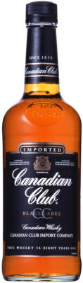 【C.C.】【カナディアンウイスキー】カナディアンクラブブラック 700ml<ウイスキー ウィスキー お酒 ギフト プレゼント Gift 贈答品 お酒>