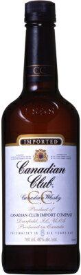 【C.C.】【カナディアンウイスキー】カナディアンクラブ 700ml<ウイスキー ウィスキー お酒 ギフト プレゼント Gift 贈答品 内祝い お返し お酒>