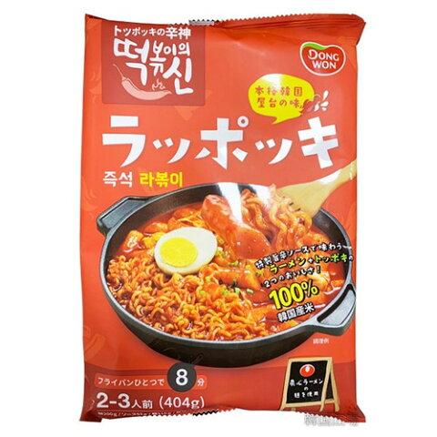 東遠 屋台風 即席 ラッポッキ 404g 2人前 コストコ 話題 韓国 食品 食材 料理 トッポッキ おやつ お餅