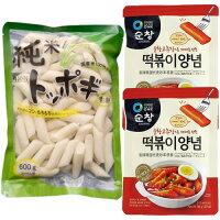 純米もちもちトッポキ餅国産米100%トッポギトッポッキおやつお餅韓国餅韓国食品韓国料理韓国食材簡単料理業務用