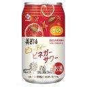 【送料無料】美酢 ビューティー ビネガー サワー ざくろ 4度 350ml x 24缶 リキュール 韓国 食品 食材 料理 お酒
