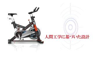 人間工学スピンバイクフィットネスバイク静音10kgホイールサスペンション搭載小型人間工学設計LS-9002T1年保証【フィットネスバイクエクササイズバイクトレーニングバイクルームランナー】