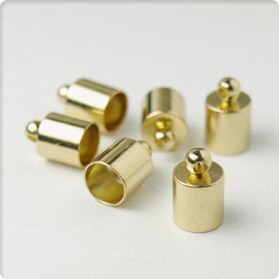 カツラ内径6.3mmゴールド4個セット【メール便対応】【17日