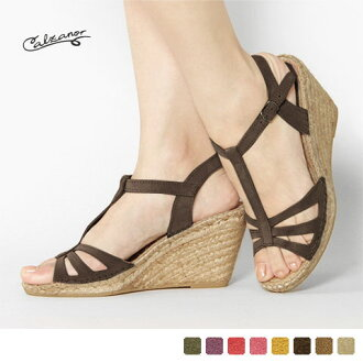 Calzanor - カルザノール - t-strap Sandals suede ☆ ☆ ◇ ◇
