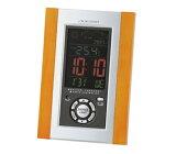 電波置き時計 アデッソ製 デジタル C-8211 天気予報機能付電波時計 掛置兼用 【楽ギフ_包装選択】【Q】