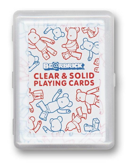 ファミリートイ・ゲーム, トランプ BERBRICK CLEARSOLID PLAYING CARDS