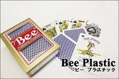 【トランプ】 Bee(ビー)プラスチックカード ≪ブリッジサイズ≫