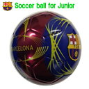サッカーボール4号 サッカーボールバルセロナ バルセロナサッカーボ...