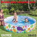 プールベビープール子供用ファンアットビーチスナップセットプールビーチ柄152×25cmインテックスintex56451