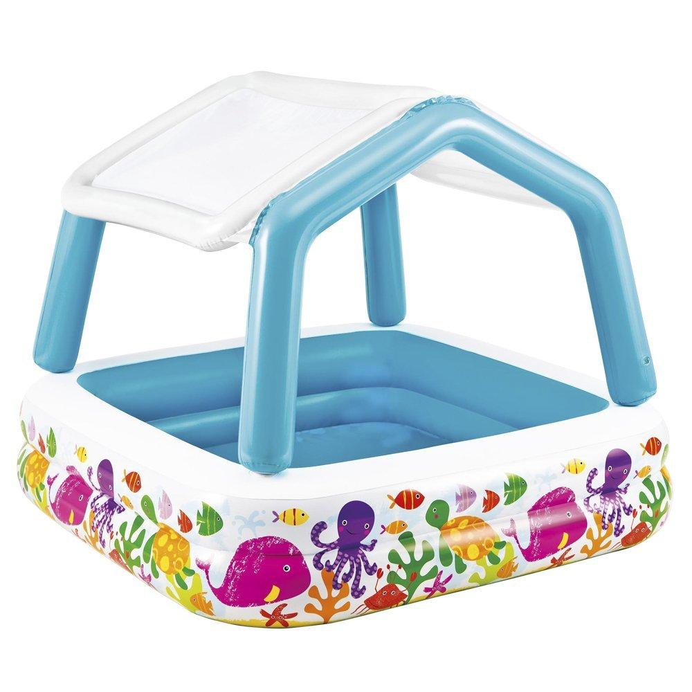 プール サンシェードプール 子供用 ベビー 屋根付きプール インテックス 57470