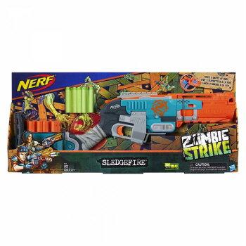 ナーフスレッジファイアブラスターゾンビストライクNerfZombieStrikeSledgefireA4326並行輸入品