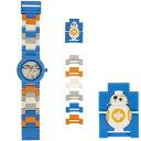 腕時計 スターウォーズ レゴウォッチ BB-8 LEGO Watch BB-8 8020929 並行輸入品 【ミニフィギュア お子様 子供 プレゼント 誕生日 お祝い 時計 おもちゃ レゴブロック クォーツ】【メール便送料無料】
