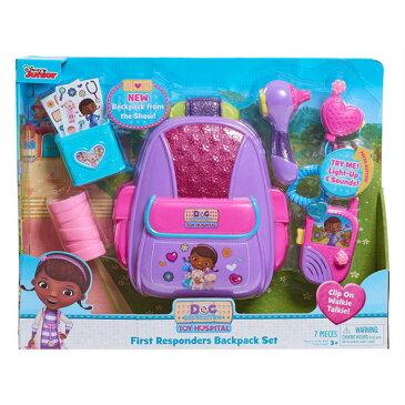 ドックはおもちゃドクター ファーストレスポンダーズ バックパックセット ディズニー Doc McStuffins First Responders Backpack Set Disney 並行輸入品