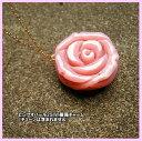 超大粒 ピンクオパール 25mm 薔薇 K10チャーム【祝18周年天然石特別】