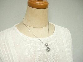 黒蝶真珠付デザインパール