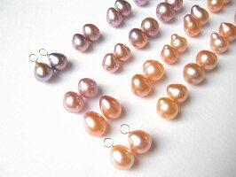 ナチュラルカラー淡水真珠
