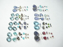 ロンドンブルー天然石チャーム