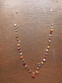 天然石ネックレス