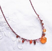 オレンジ天然石