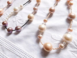 有核淡水真珠ネックレス