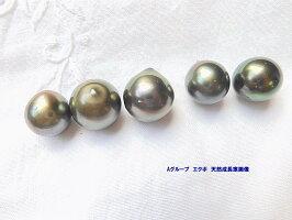 干渉色黒蝶真珠