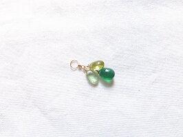 グリーンオニキスグリーンカイヤナイトペリドット