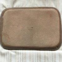 カフェプレート/陶器/ドット/手作り/ブラウン/チョコDotFactoryさんの陶器の手作りカフェプレートチョコです。