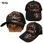 Nortonメッシュキャップ3D刺繍MAX193N8708ブラックBLK【ノートンキャップ/メンズCAP/刺繍帽子メッシュ/バイカー/バイク/ストリート/あす楽】
