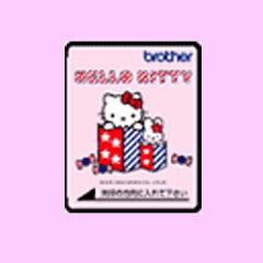 ブラザー(brother)刺しゅうカード「ハローキティ」