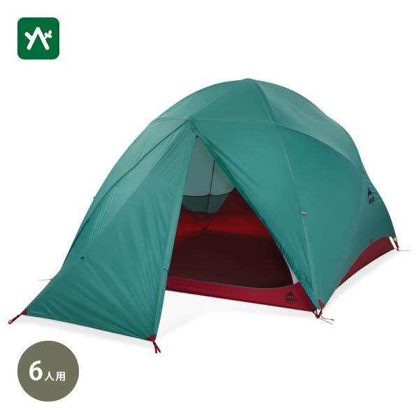 エムエスアールMSRハビチュード637029 6人用テントドームファミリー