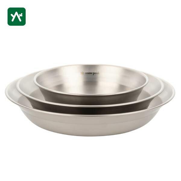 キャンプ用食器, 皿  snow peak L TW-021