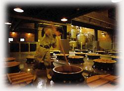 吉兆宝山は伝統のかめ壺仕込み