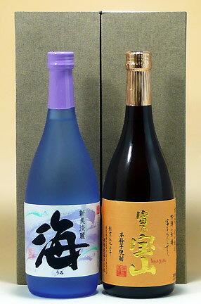 西酒造・大海酒造【芋焼酎25度】富乃宝山・海72...の商品画像