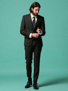 HUGO BOSS (ヒューゴ ボス) ウール100% ミニドット シングル 2ツ釦 ノータック スーツ SLIMFITブランド メンズ 男性 紳士 スーツ ビジネス フォーマル シングルスーツ ノータック ドット 細身 HBHG10225304
