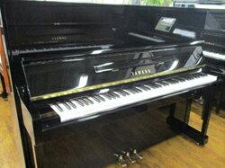 YAMAHA ヤマハ U10BL【中古ピアノ】【アップライトピアノ】【名古屋のピアノ専門店】】黒艶出し 1型モデル