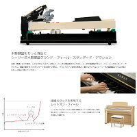 【木製鍵盤モデル】KAWAICA49調電子ピアノ木製鍵盤88鍵盤【配送組立設置無料】【2倍】ca-49