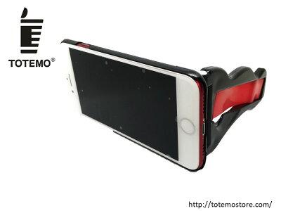 【TOTEMOストア公認】TOTEMOくまモンバージョン送料無料iPhone6iPhone6siPhone7iPhone8片手で撮影アイフォンケースアイフォン落下防止縦スタンド写真撮影動画撮影iPhone