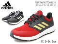 アディダス【adidas】FORTAFAITORCKADIDASFAITORCK/FV6115FV6118スカーレットダークグレーキッズ・ジュニア子供靴/運動靴/紐靴/靴/軽量/通気性/通販【10%OFF】【あす楽対応】