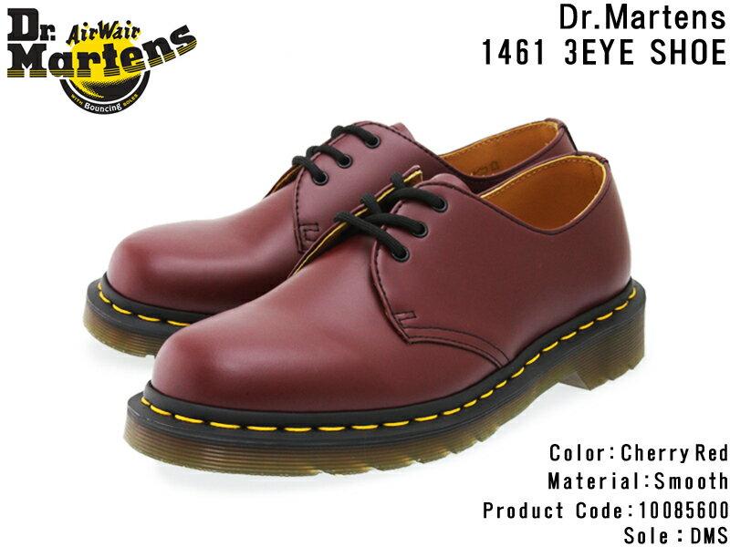 メンズ靴, その他 Dr.Martens 1461Z 3 EYE SHOE 1461 3 10085600 CHERRY RED 3Airwair10OFF
