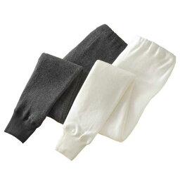 メンズ 秋冬 紳士用 アンゴラ入り暖かズボン下2色セット 955103