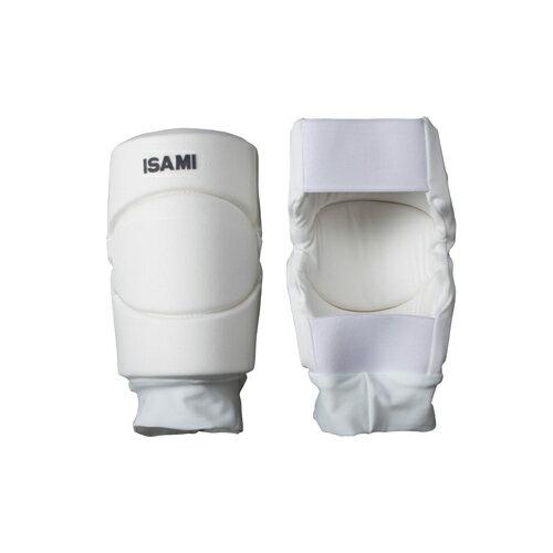 ISAMI イサミ ニーガード 膝サポーター L-1103//イサミ 膝 サポーター 空手 フルコンタクト フルコン サイドガード ニー バレー