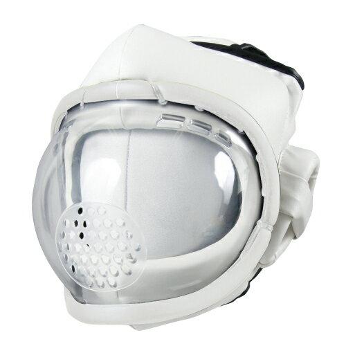 ISAMI 空手 ヘッドガード スーパーセーフ面 //イサミ ヘッドギア プラスチック面 ノンコンタクト
