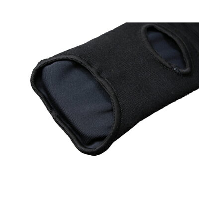 ISAMIレッグ&アンクル(左右1組)黒色L-227//レッグサポーター空手足サポーターキッズジュニア脛サポーターフルコン