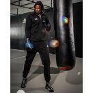 adidasシルバーハイロンサウナスーツ//アディダス減量ダイエットボクササイズフィットネストレーニングウェアエムワールドmworld