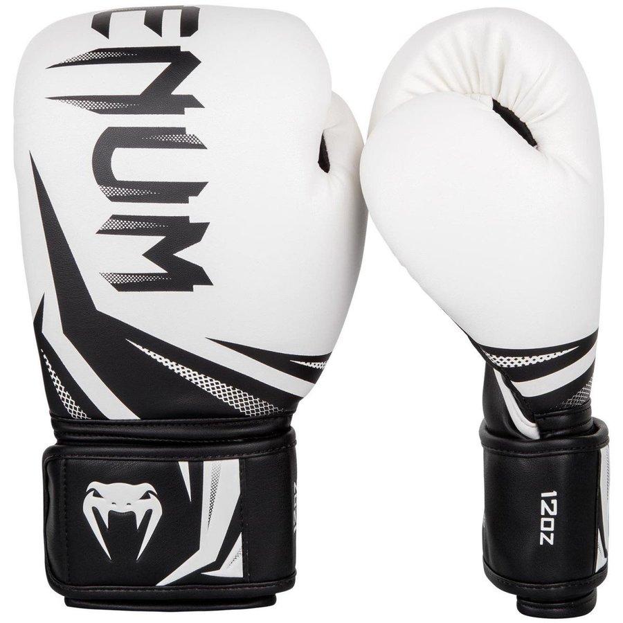 VENUM ボクシンググローブ CHALLENGER 3.0 (ホワイト×ブラック) //スパーリンググローブ ボクシング キックボクシング フィットネス ボクササイズ 送料無料