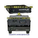 八重洲無線 C4FM デジタルで進化を遂げたWIRES-X 接続用キット HRI-200とモービルトランシーバー用デスクトップ型クーリングファン SMB201のセット