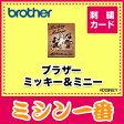ブラザー 刺しゅうカード / ミッキー&ミニー / ECD024
