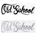 OLD SCHOOL オールドスクール ヘラフラ スタンス ステッカー ...