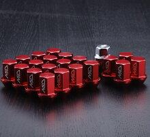レイズRAYSロックナットホイールナットP1.5P1.2520個専用ソケットデュラナットレッド赤DURAジュラルミンナットMID